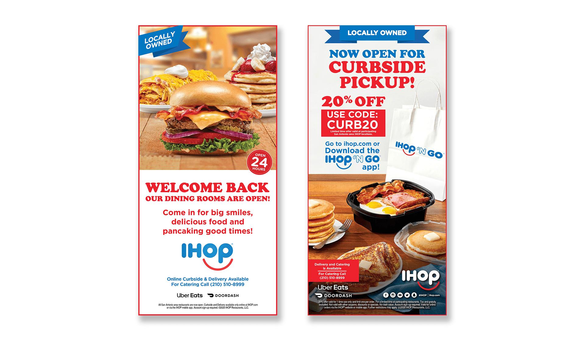 IHOP Print Ads