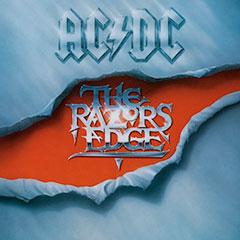 AC/DC The Razors Edge album cover