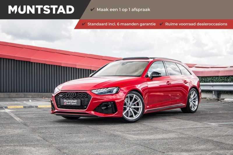 Audi RS4 Avant 2.9 TFSI quattro | 450PK | Sportonderstel Plus | Panoramadak | Inleg Carbon | B&O | Sportdifferentieel | Head-up