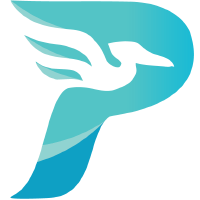 Logo for pelican