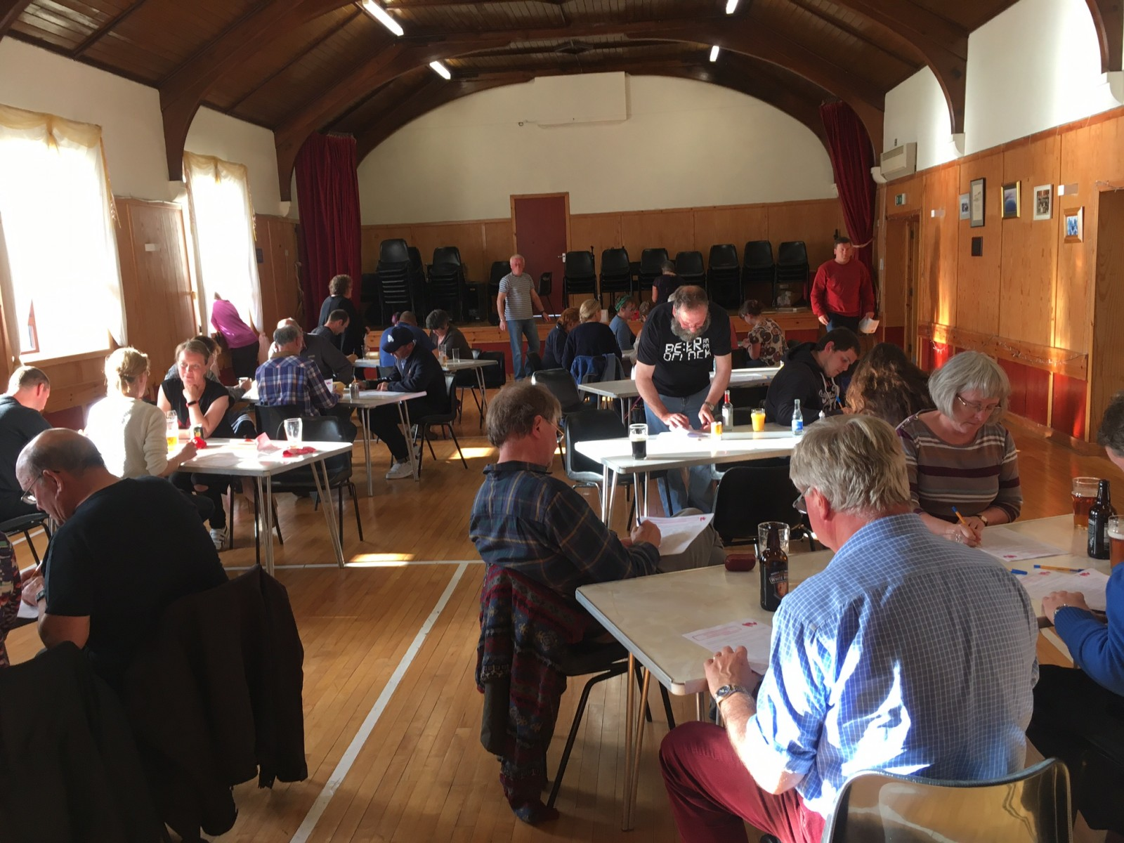Participatory budgeting event Fetlar Hall