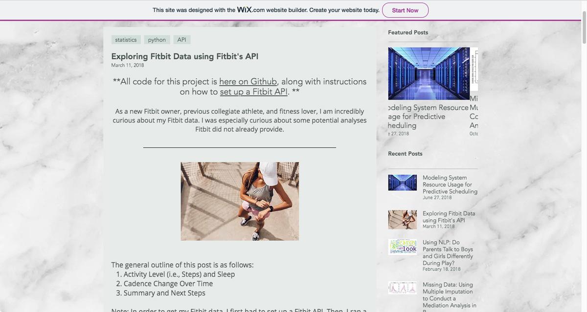 A FitBit case study taken from Jessie-Raye Bauer's data analytics portfolio