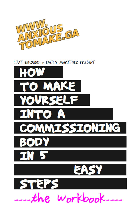 How to Make Yourself Into A Commissioning Body in 5 Easy Steps Workbook