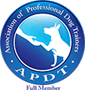 professional dog trainer APDT
