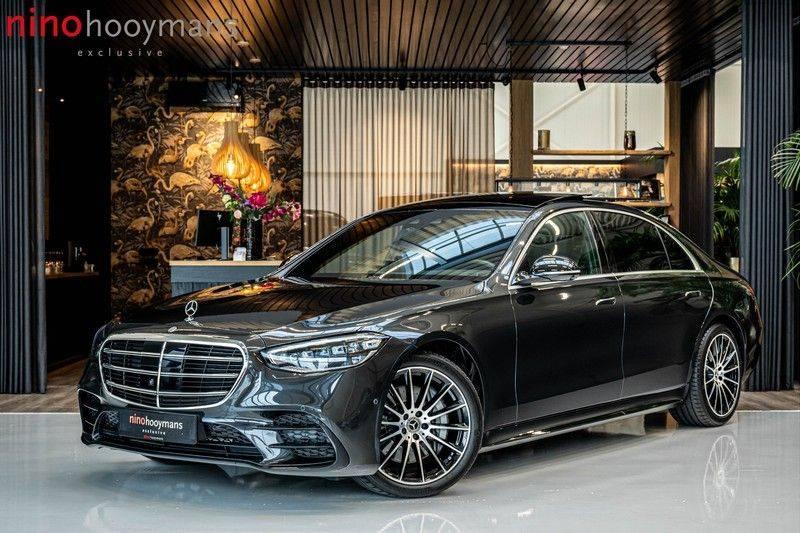 Mercedes-Benz S-Klasse 400d 4Matic Lang AMG | 3D Display | Augmented Head-Up Display | Burmester 3D | Pano | Memory afbeelding 1