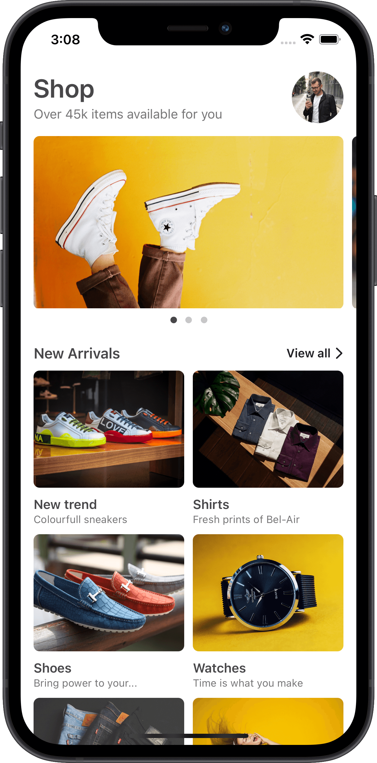e-commerce, home, sneakers, products