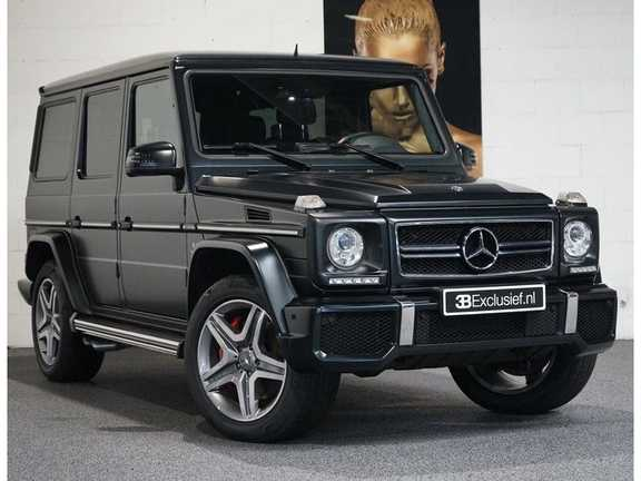 Mercedes-Benz G-Klasse 65 AMG DESIGNO MAGNO NIGHT BLACK