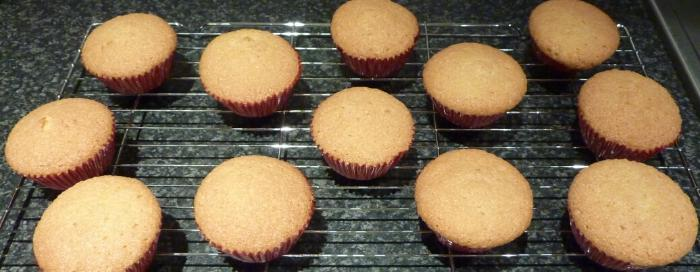 Undecorated cakes