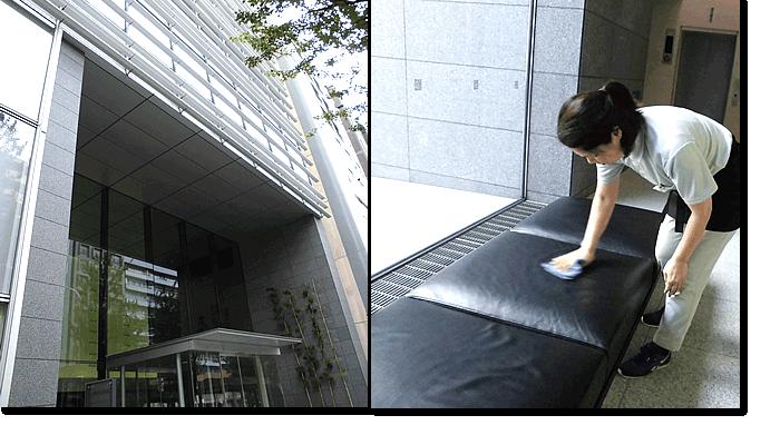 新東京ビルサービス|オフィス・ビル|テナント清掃例