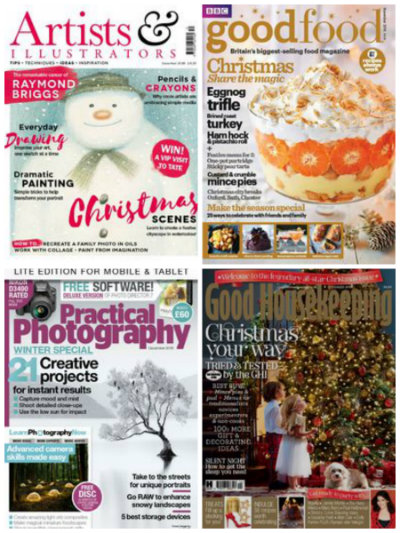 Artists and Illustrators, Good Food, Practical Photography and Good Housekeeping
