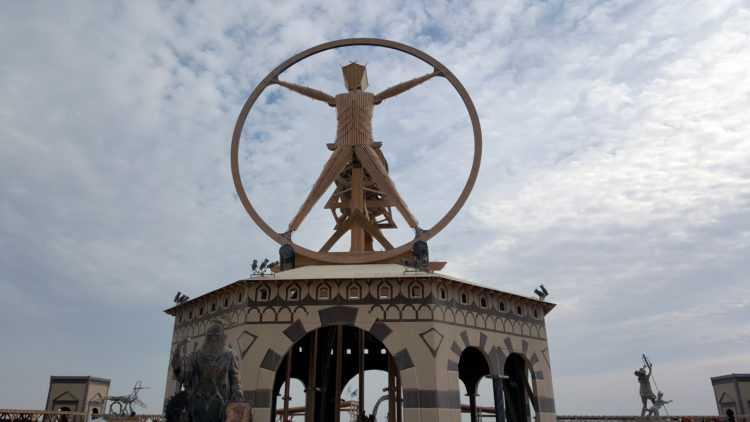 Burning Man Da Vinci