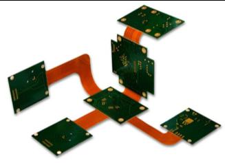 Circuits imprimés flex-rigide