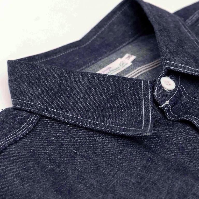 La triple stitch, un standard depuis la Hercules work shirt des années 40