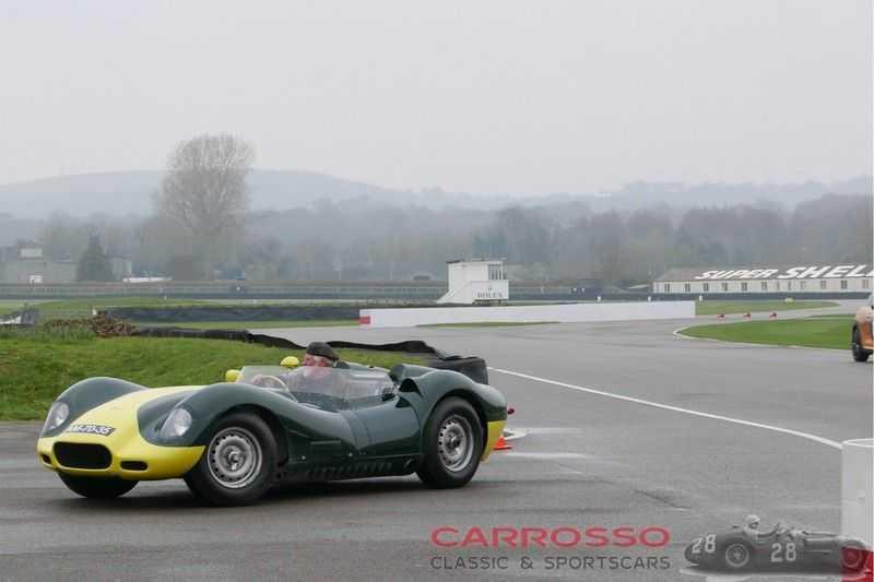 Jaguar Lister Knobbly Evocation RHD afbeelding 11