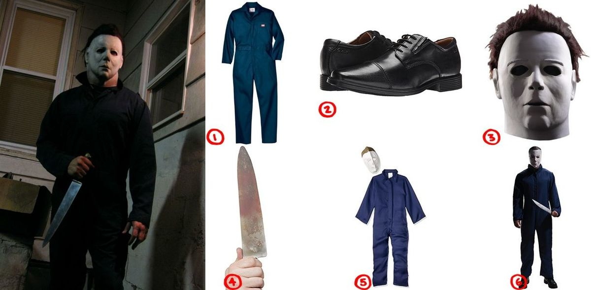 how to dress like the cursed and demented michael myers costume for halloween