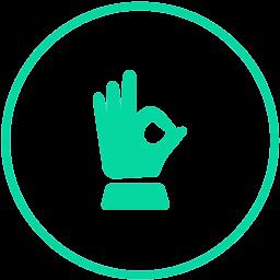 Sličica ruke koja simbolizira ručnu 'handmade' proizvodnju boolab prirodne kozmetike