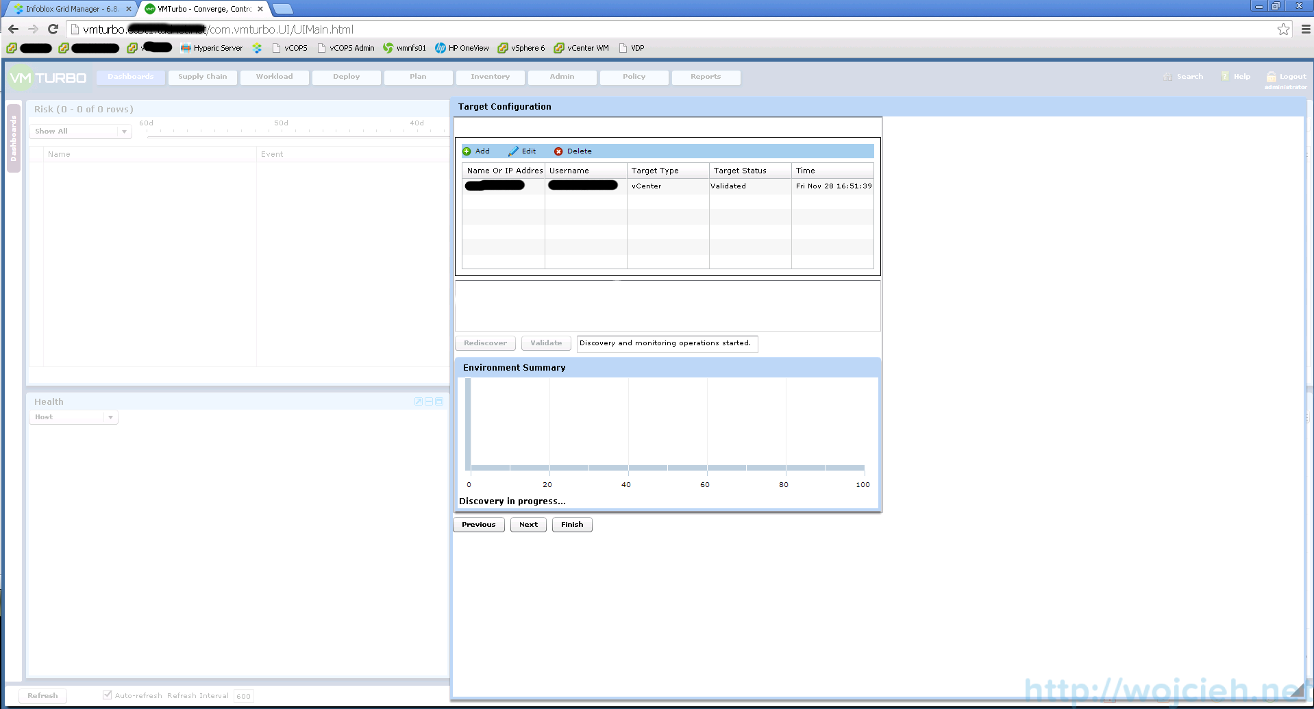 VMTurbo Operations Manager Installation and Configuration 16