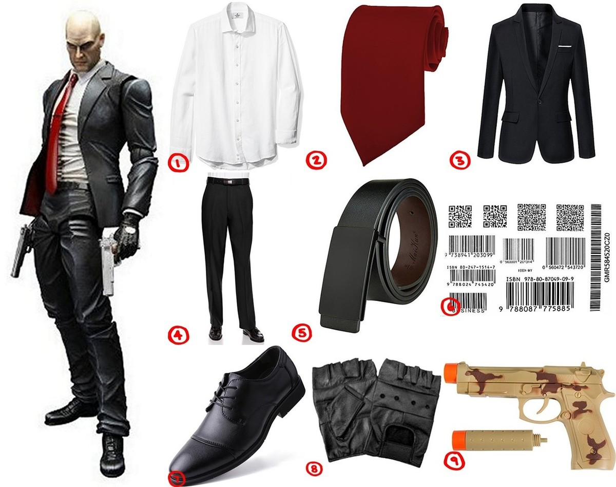 Hitman Agent 47 Cosplay & Costume Guide