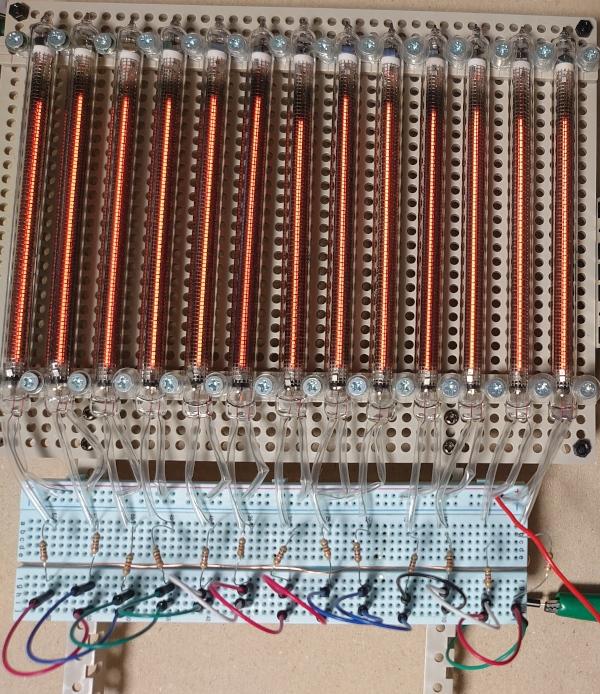 in-9ネオンバーグラフディスプレイ管用電源とヘッドホンアンプ用電源回路を試作した。 cover image