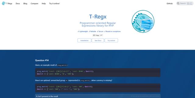 T-Regx