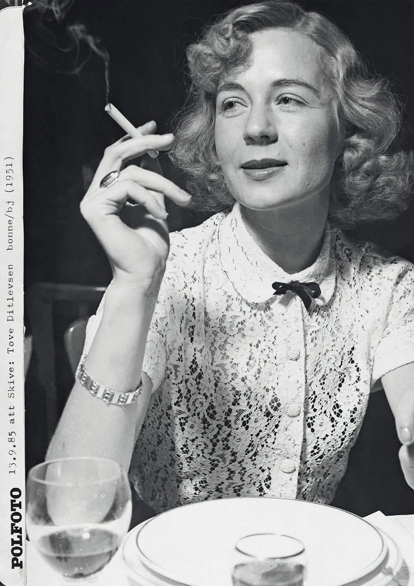 Тове Дитлевсен (1951). Фото: Johnny Bonny, Polfoto