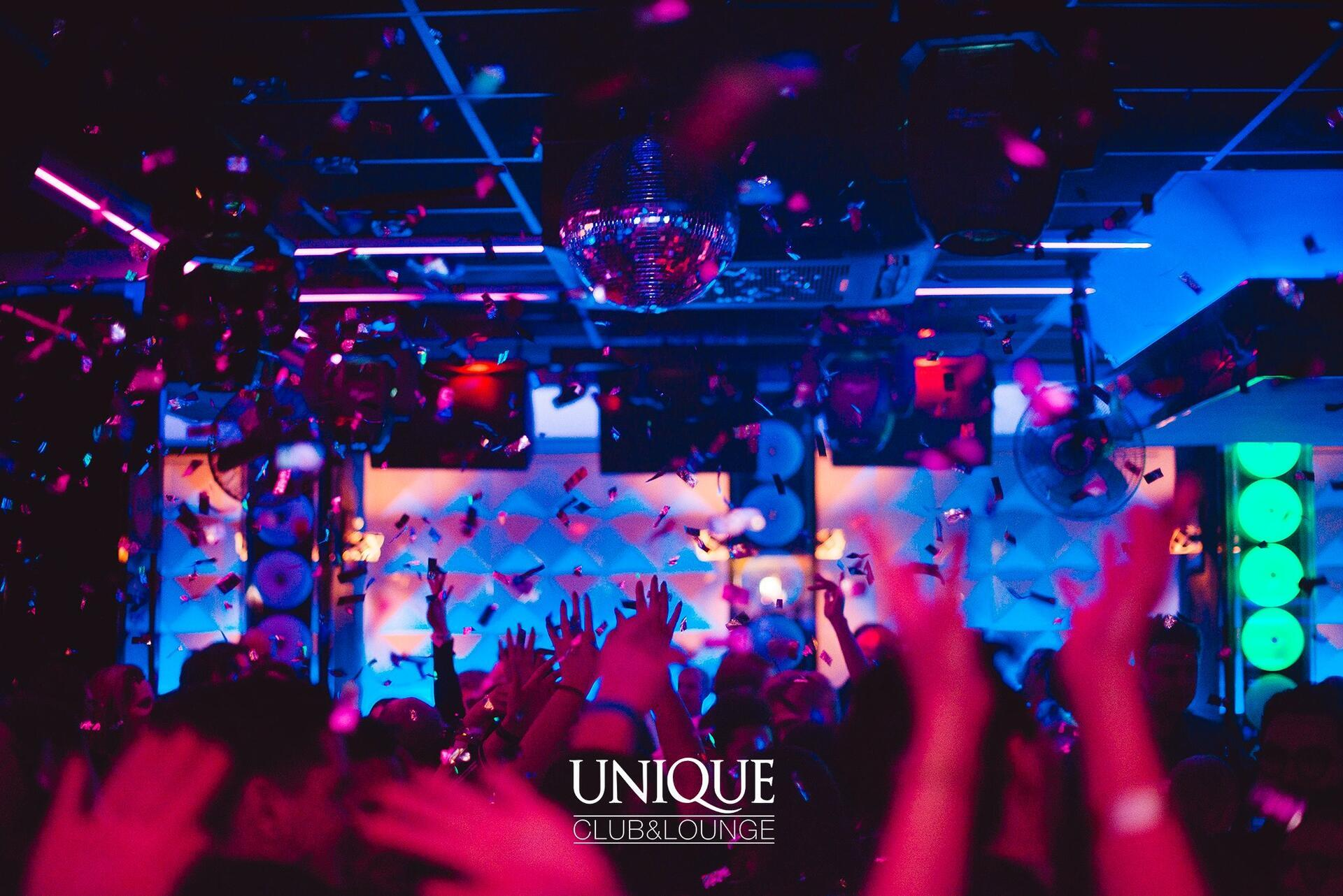 Unique Club Sopot website project image