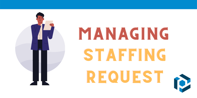 Managing incoming staffing request with Parseur