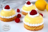 Lemon and Raspberry Domes