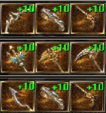 Laziness Weapon +10x1