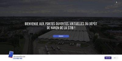 Site Visit Haren Stib, réalisé par Artimon Digital
