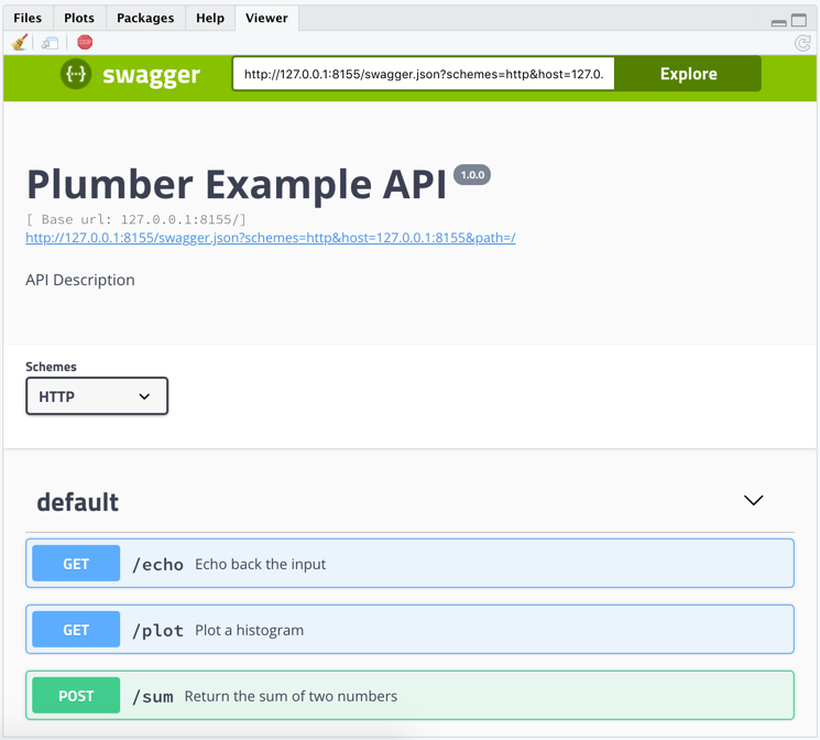 RStudio 1 2 Preview: Plumber Integration | RStudio Blog