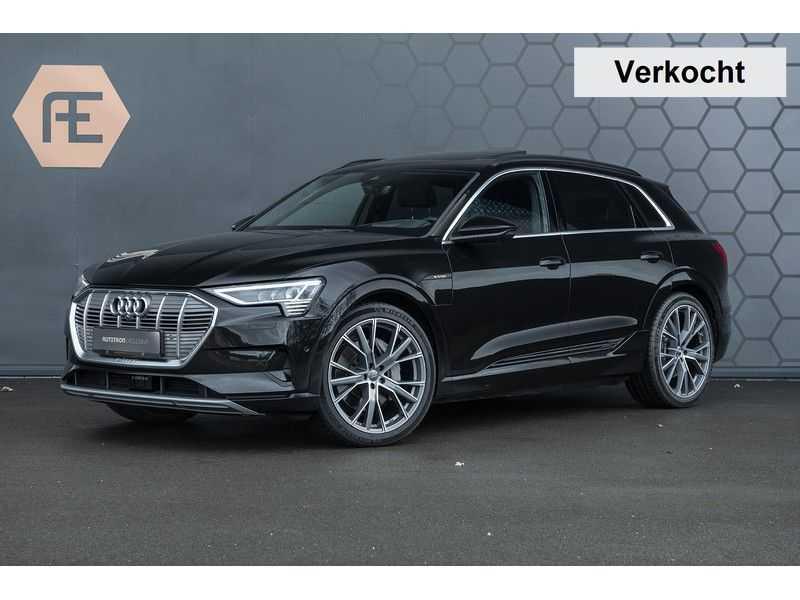 Audi e-tron 55 quattro Advanced Pro Line S 2019 4%+ Excl. BTW+ Full option afbeelding 1