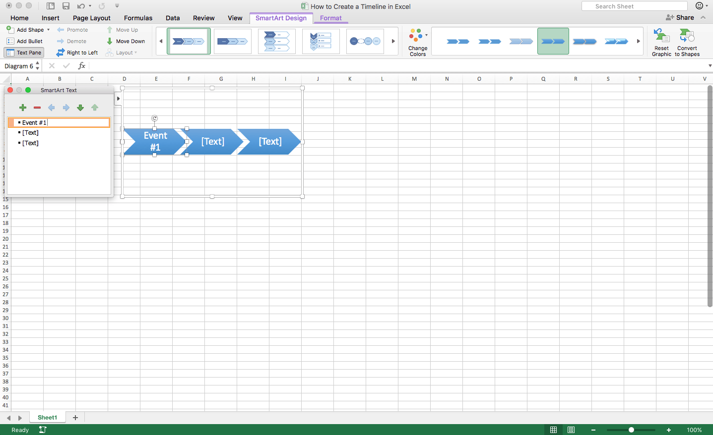 How To Create A Timeline In Excel Template TeamGantt - Timeline template excel
