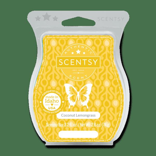 Coconut Lemongrass Scentsy Bar