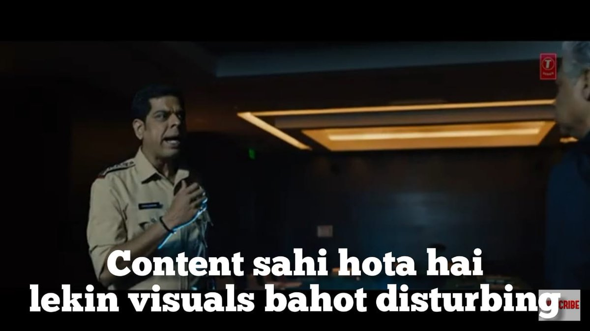 Murli Sharma in Saaho Trailer Content sahi hota hai lekin visuals bahot disturbing
