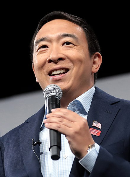 A photo of Andrew Yang