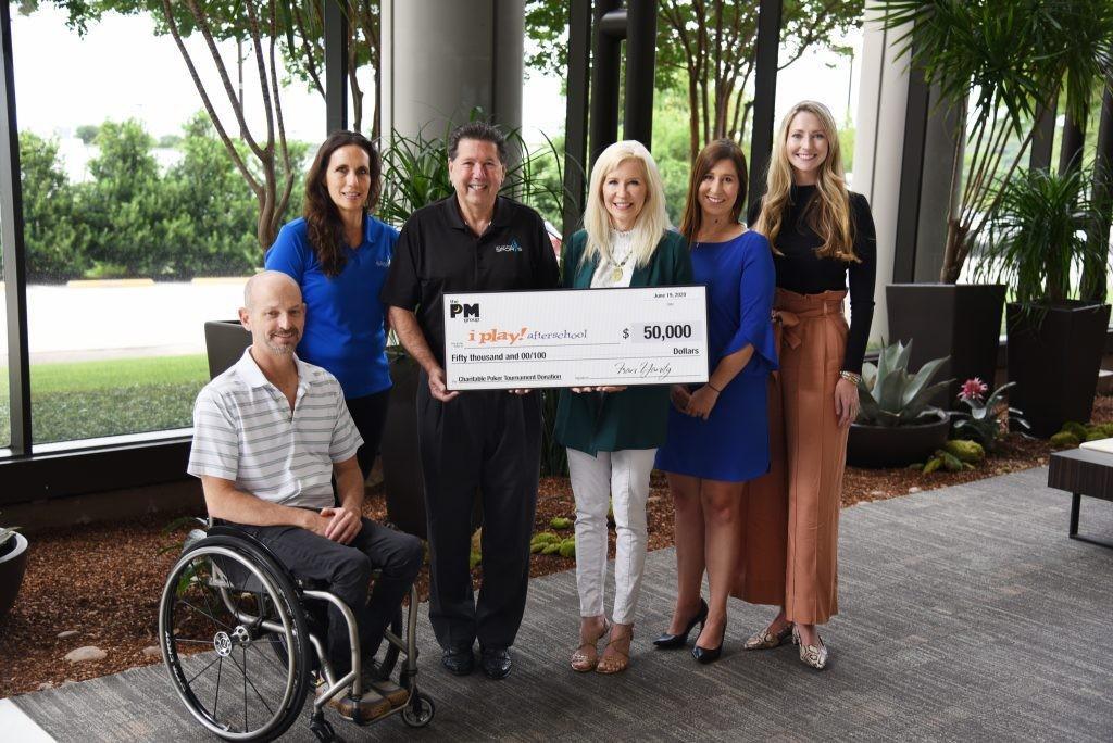 The PM Group Donates to San Antonio Sports