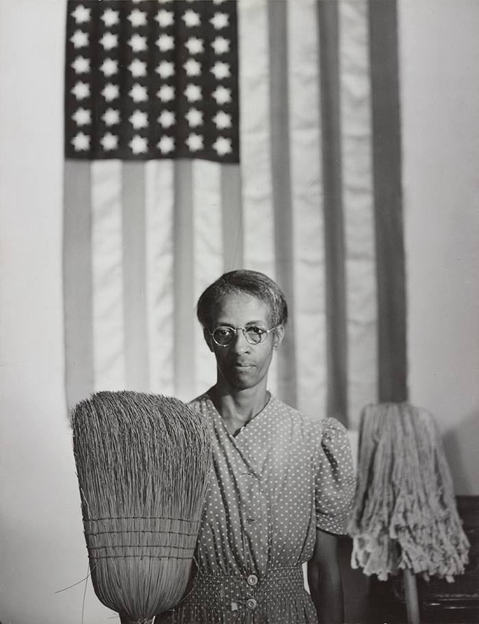 Gordon Parks (1912–2006), Washington, D.C. Government charwoman