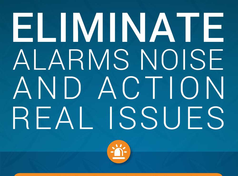 Accruent - Resources - Infographics - Eliminate Alarms Noise & Action Real Issues with IoT Remote Monitoring - Hero