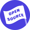 Logo of the Rasa Open Source project