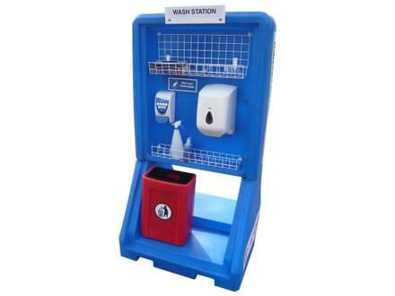 Portable Indoor/Outdoor Hand Sanitiser Station