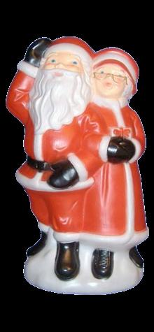 Santa and Mrs. Claus photo
