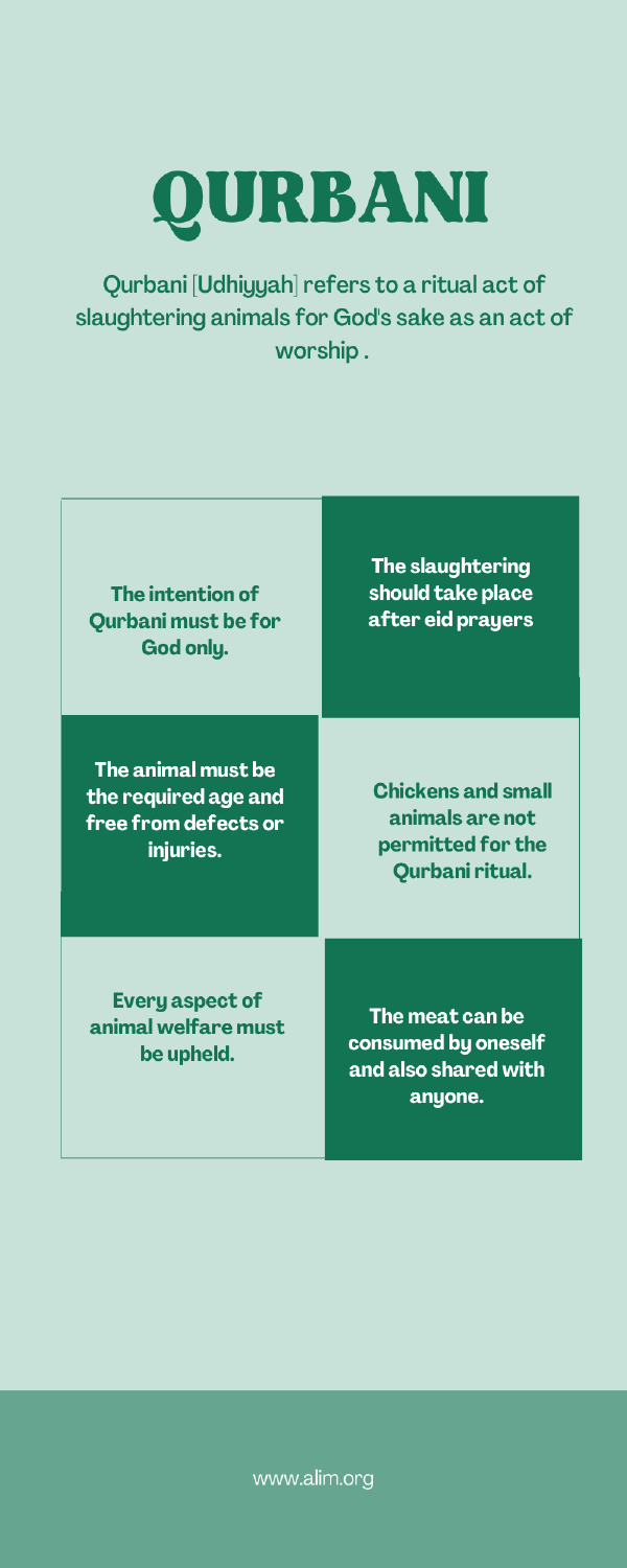 Qurbani-Facts We Must Know