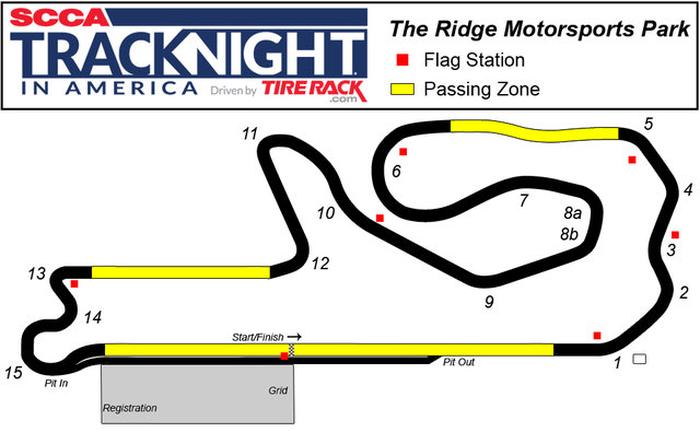 Ridge Motorsports Park 8-8-18