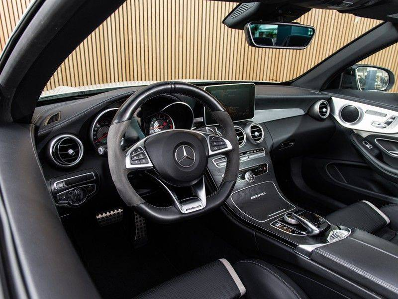 Mercedes-Benz C-Klasse C63 S AMG Cabrio AMG RIDE CONTROL, NIGHTPACK, afbeelding 20