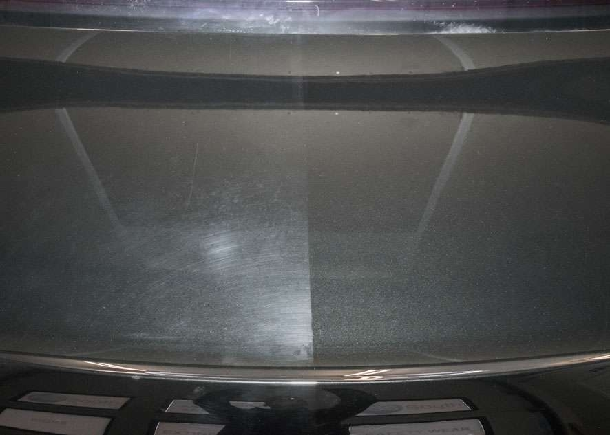 Bentley Flying Spur car boot lid before and after polishing, paint correction and paint enhancement