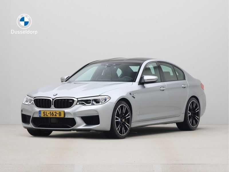 BMW M5 Individual Pure Metal Silver Nw Prijs €. 205.148.- afbeelding 1