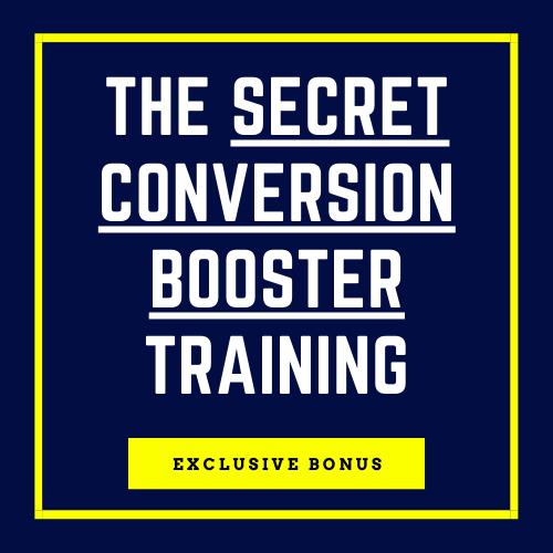 Bonus: Secret Conversion Booster Training)
