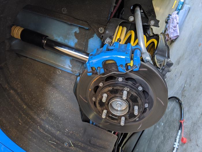 Ford RS Suspension Adjustment Upgrades