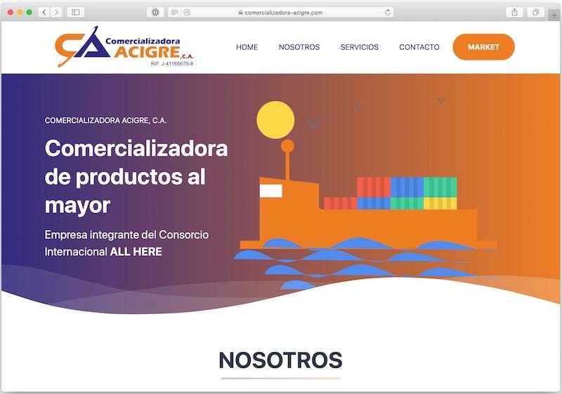 comercializadora-acigre.com
